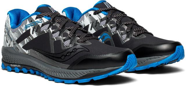 saucony Peregrine 8 Ice+ Shoes Herren blackwhite